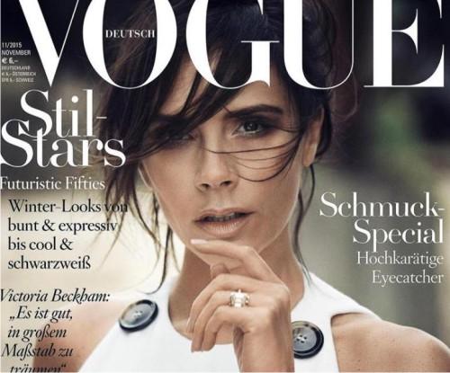 Красавица Виктория Бекхэм украсила обложку германского Vogue