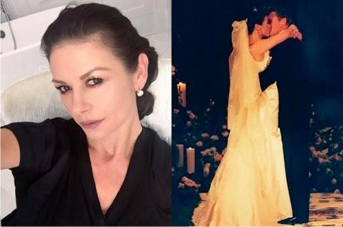 47-летняя Кэтрин Зета-Джонс обнародовала фото вбикини