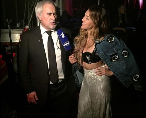 Телеведущая программы «Орел иРешка» «засветилась» на русском шоу вужасном наряде
