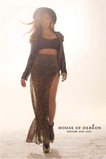 Бейонсе в рекламе модных нарядов осени 2012. Фоторепортаж